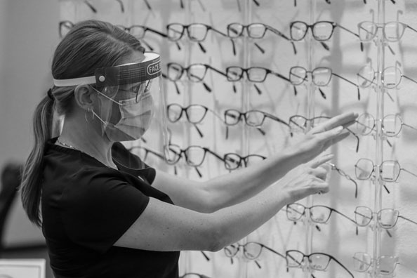 Summerland Optometry in action