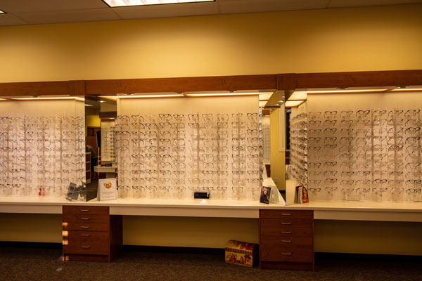 Optical Dispensary at Summerland Optometry