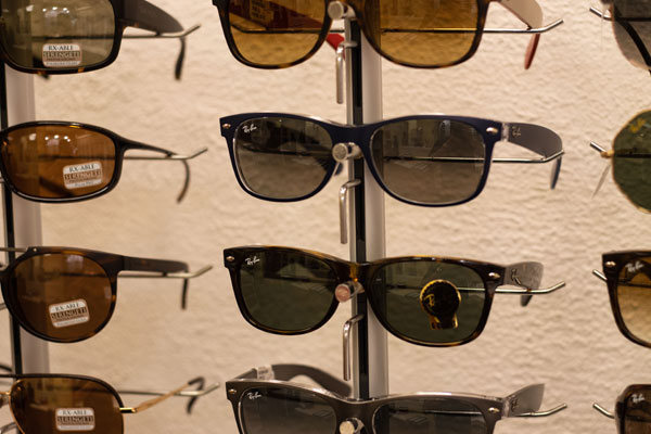 Sunglasses at Summerland Optometry