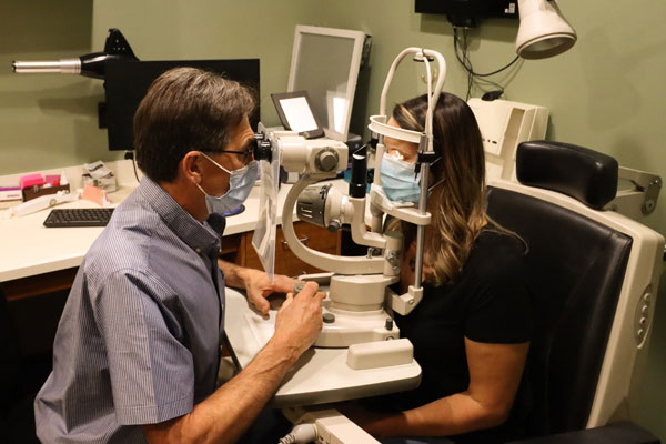 Adult Eye Exam at Summerland Optometry