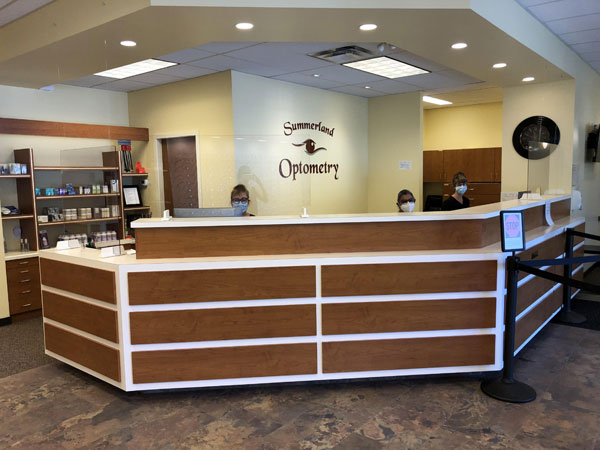 Eye Exam at Summerland Optometry